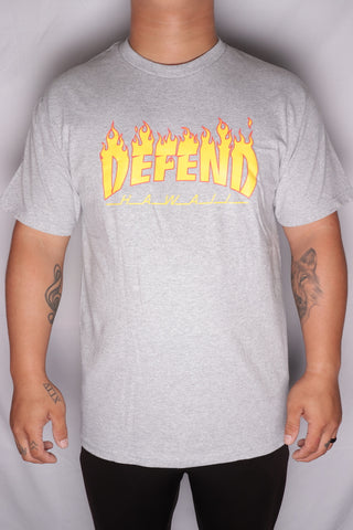 DH ! THRASH & DEFEND  ATHLETIC.HTHR  YLW/RED