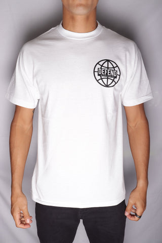 DH ! WORLDWIDE  WHT/BLK
