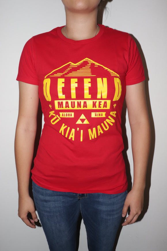 DH ! KU KIA'I WOMENS  RED/YELLOW