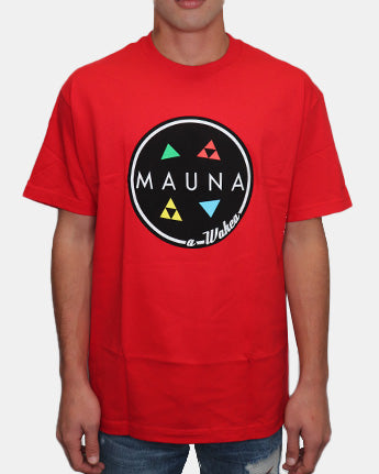 AND A WAKEA Red Tee