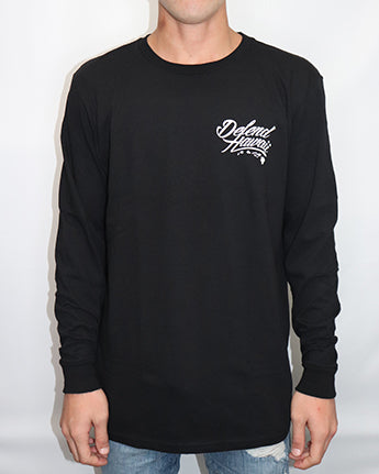Wild Rebel Longsleeve-black