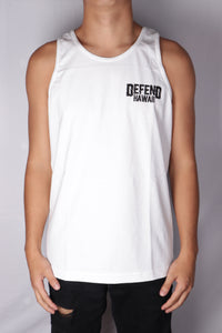 DH ! TILL I COLLAPSE TANK TOP  WHITE WHT/BLK