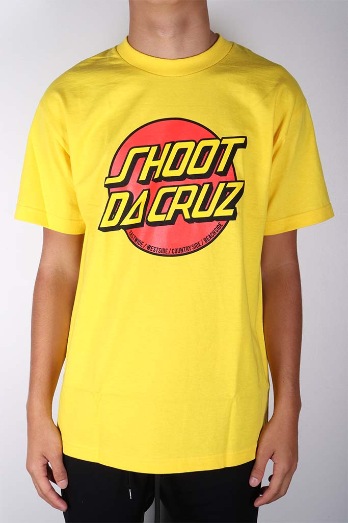 DH ! SHOOT DA CRUZ  YELLOW YLW/RED/BLK