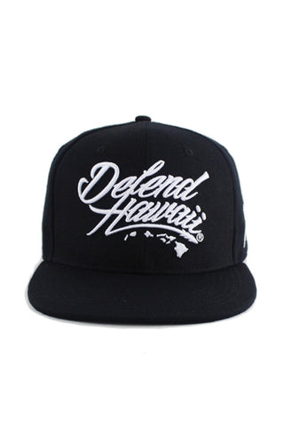 DH ! WILDSTYLE LOGO SNAPBACK  BLK/WHT