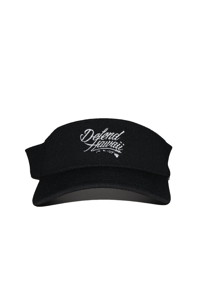 DH ! WILDSTYLE VISOR  BLACK/WHITE