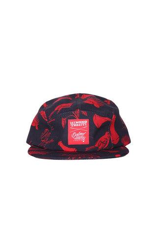DH ! HXD PATTERN 5-PANEL  BLK/RED
