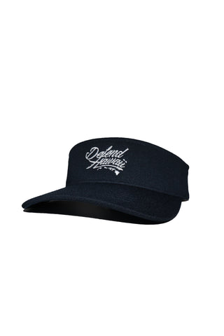 DH ! WILDSTYLE VISOR  NAVY/WHITE