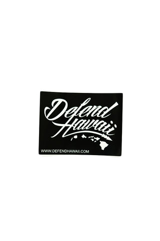 DH ! WILDSTYLE LOGO SLAP STICKER  BLACK