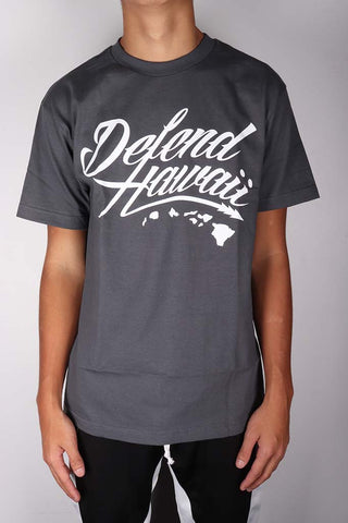 DH ! WILDSTYLE LOGO  CHARCOAL/WHITE