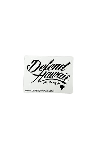 DH ! WILDSTYLE LOGO SLAP STICKER  WHITE