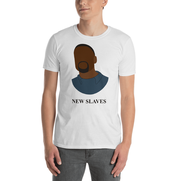 New Slaves - Kanye West White Tee