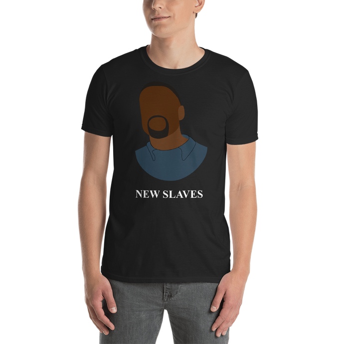 New Slaves - Kanye West Black Tee