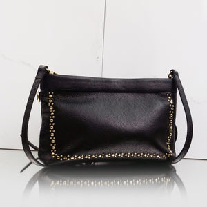 Berlin convertible clutch in black