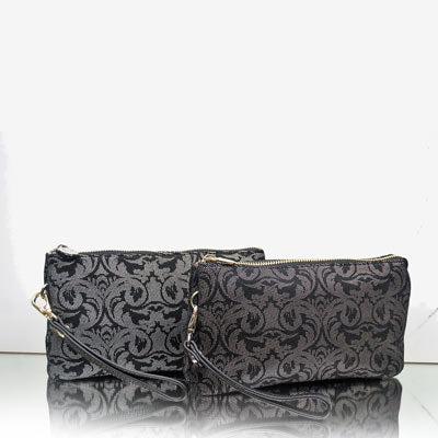 Prague Clutch silver florish DISCONTINUED