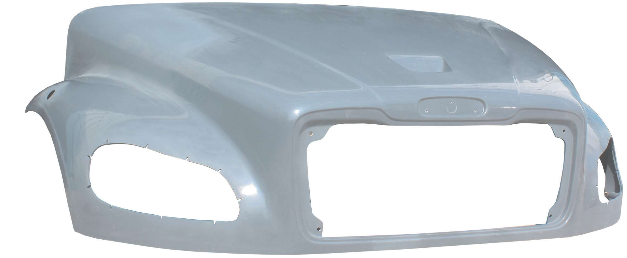10009-N Freightliner Hood M2 106 Fiberglass 2003 & Newer Replaces OEM A17-19133-032  A17-19133-022 A17-19133-012 A17-19218-012 - BC Heavy Truck