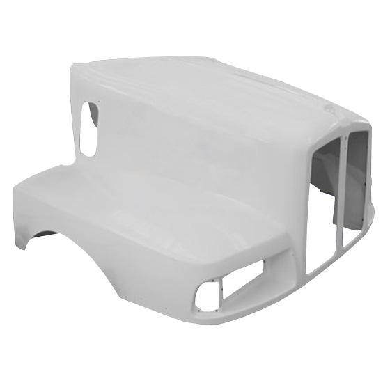 10015-N Kenworth T-600 B Fiberglass Hood 1997 To 2007 Replaces Oem  K-146-1231 - BC Heavy Truck Solutions