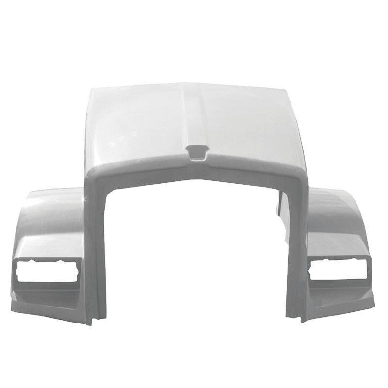 13805-Kenworth T-800 Metton Hood Replaces L29-1102-121000 L29-1102-1220000 L29-1177 - BC Heavy Truck Solutions