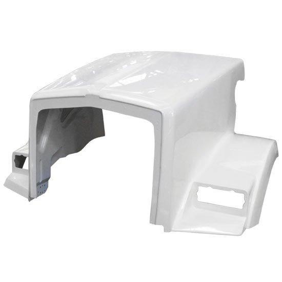 13806-N Kenworth T-800 B Fiberglass Hood 94-07 (With External Air Breathers) Replaces Oem  K146-1306  K146-1307 - BC Heavy Truck Solutions