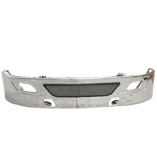 13962-N International Prostar Clad Bumper Replaces OEM# 6088129C91, 6088129C92, 6088129C93, 6088129C94 - BC Heavy Truck Solutions