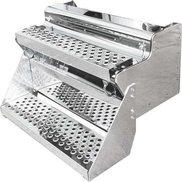14118-N Kenworth T-800 Tool Box W/Single Step Stainless 430 Cover - BC Heavy Truck Solutions