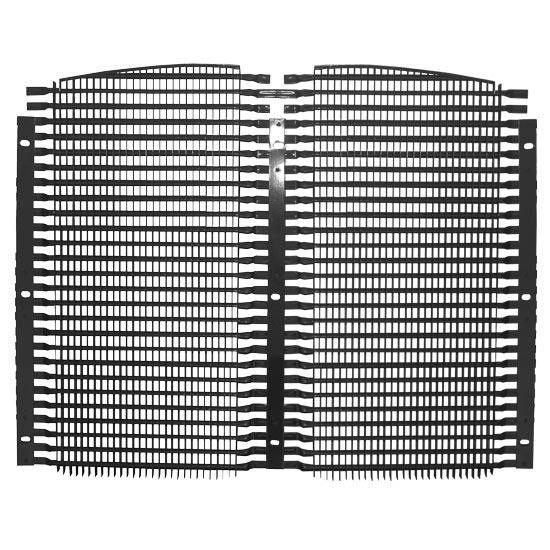 15302-N Kenworth T600 Grille B Series Aluminium Split  95-UP Replaces OEM KG0160BCD - BC Heavy Truck Solutions