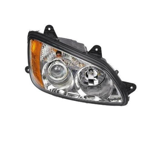 15903-R Kenworth T-660 | T-370 | T-270 Complete Headlight R (Economic) - BC Heavy Truck Solutions