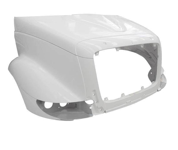 18306-N International TranStar 8500 | 8600 Fiberglass Hood 2002-2020 Replaces Oem#  3554854C98, 3903687C91 - BC Heavy Truck Solutions