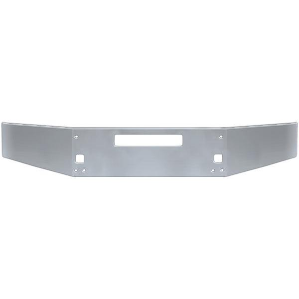 18368-N Kenworth T-800 Chrome Bumper 15'' 3/16 W/Fog Lamp - BC Heavy Truck Solutions