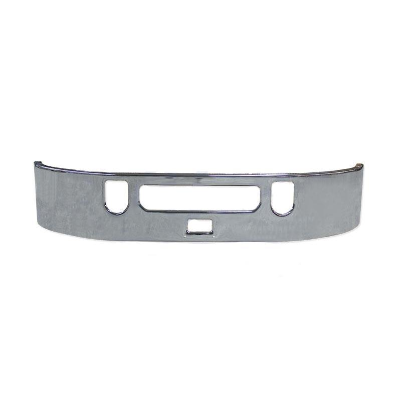 18387-N Mack Vision Bumper 17'' Chromed W/Tow Holes & Center Step/ H Tck - BC Heavy Truck Solutions