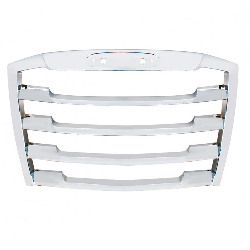 18450-N Freightliner Cascadia Grille Chrome W/O Bug Shield - BC Heavy Truck Solutions