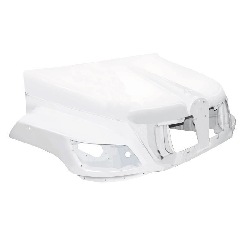 18753-N Hino 238 258 268 338 Fiberglass Hood 06-10 Replaces OEM  53310E0116 - BC Heavy Truck Solutions