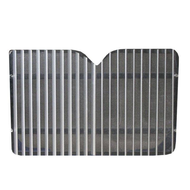 12041-N International 9200I W/ Black Bug Screen Grille - BC Heavy Truck Solutions