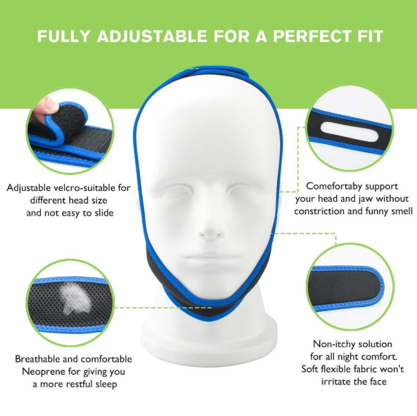 75% Off for a Limited Time! The Anti Snoring Chin Strap