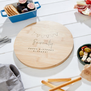 Personalised Birthday cheese board
