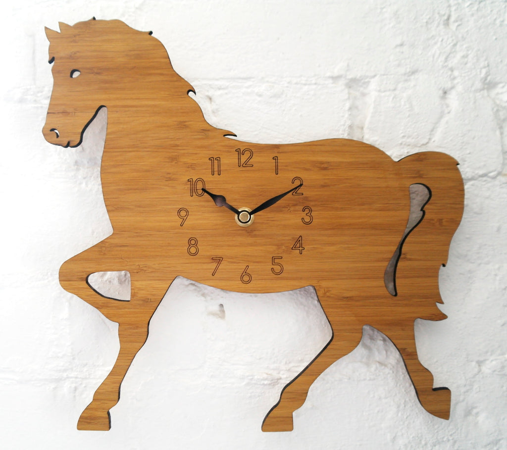 Children's horse clock