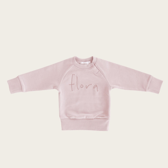 Jamie Kay Flora Sweatshirt - Old Rose