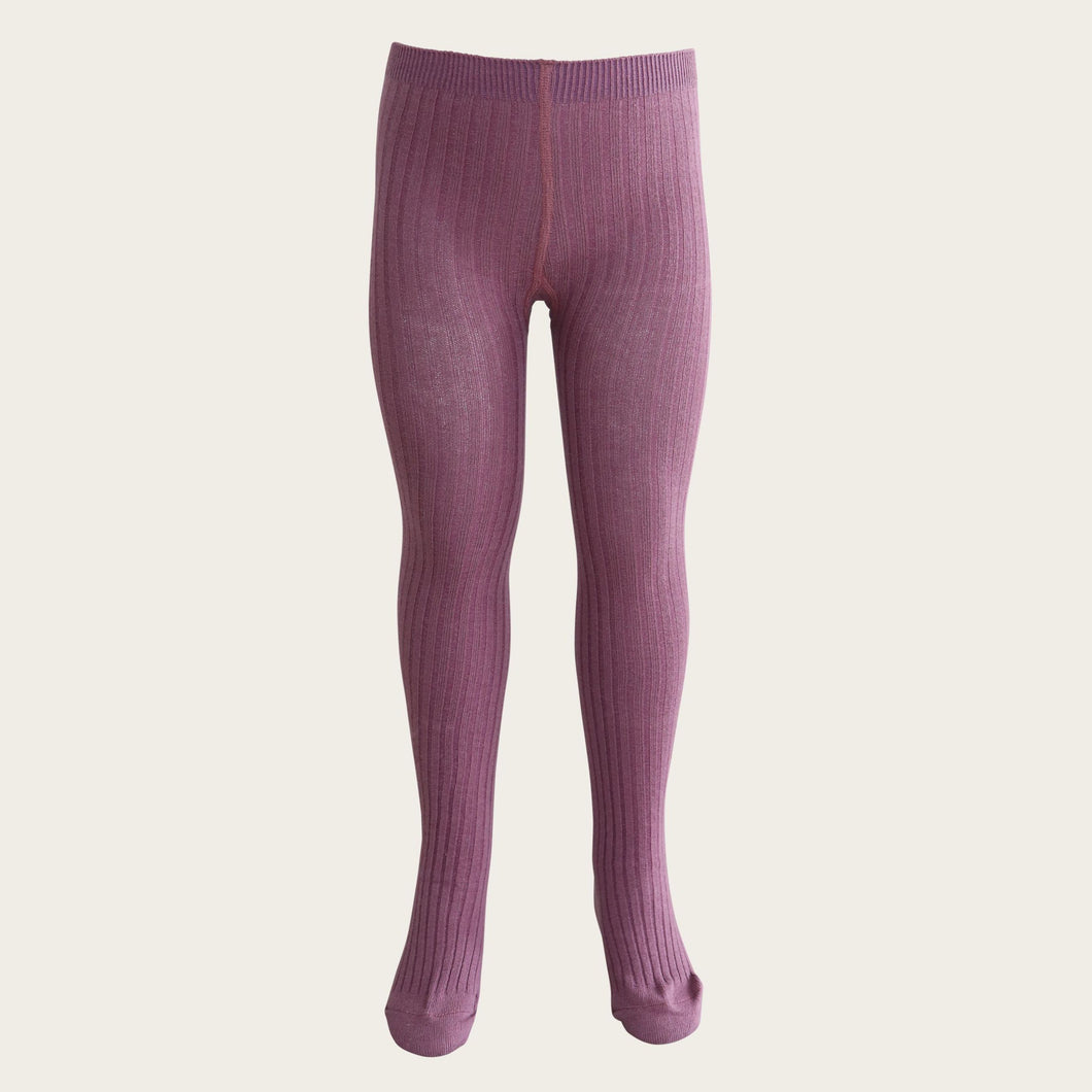 Jamie Kay Ribbed Tights - Tulip