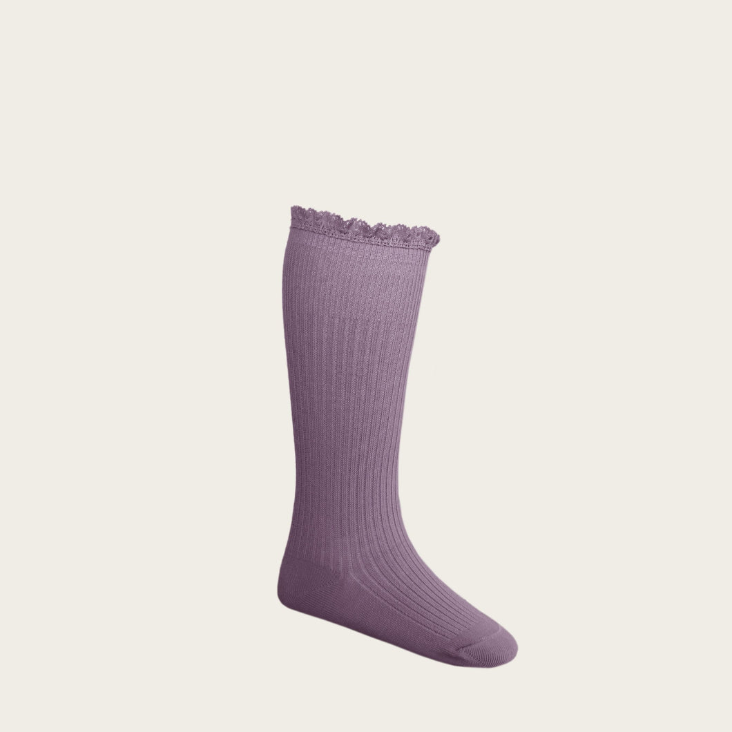 Jamie Kay Frill Socks - Blueberry