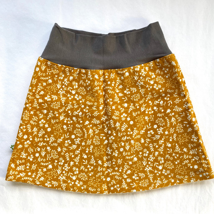 Simple Skirt | Mustard Haze