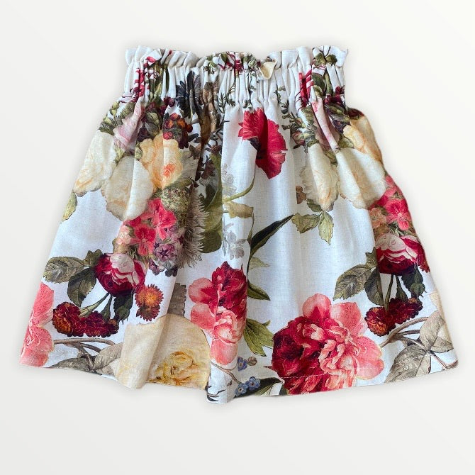 Tilly Skirt | Claret Bouquet