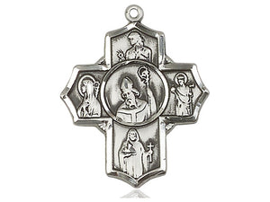 Irish Five Way Cross And Chain