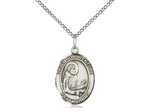 Saint Bonaventure Silver Pendant And Chain