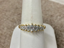Load image into Gallery viewer, Marquise Diamond Ring 18 K Gold 0.65 Carats