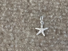 Load image into Gallery viewer, Starfish Silver Charms / Pendant