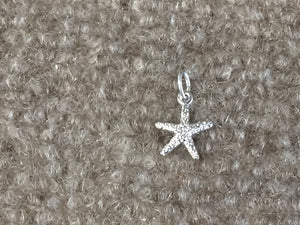 Starfish Silver Charms / Pendant