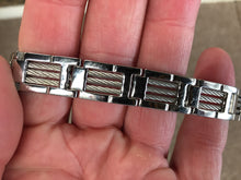 Load image into Gallery viewer, Stainless Steel Cable Bracelet