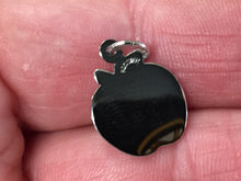 Load image into Gallery viewer, Number One Teachers Apple Silver Charm