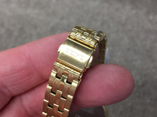 Load image into Gallery viewer, Seiko Women's Gold Tone Watch SUT350 Solar