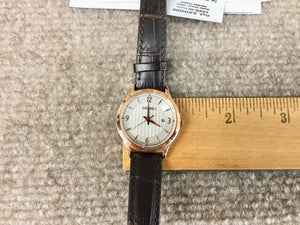 Seiko Rose Gold Color Leather Strap Women's