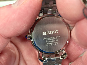 Seiko Women's Stainless Steel Quartz Watch